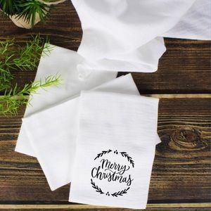 Farmhouse Inspired Flour Sack Towel